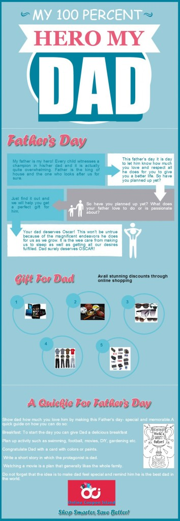 5 Infographics About Father's Day
